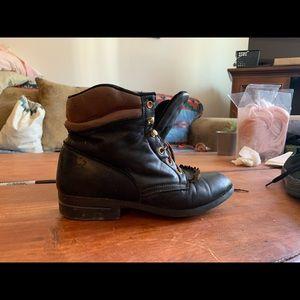 Women's size 7 Laredo Lace Up Boots